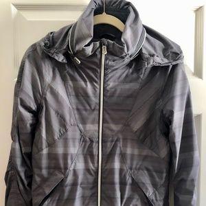 LULULEMON Run Hustle lined track jacket with hood